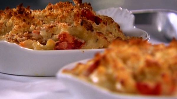 Watch the video Lobster Mac & Cheese: Barefoot Contessa's Favorite Recipe on Yahoo News . How can mac and cheese get any better? Ina adds tender, buttery lobster.