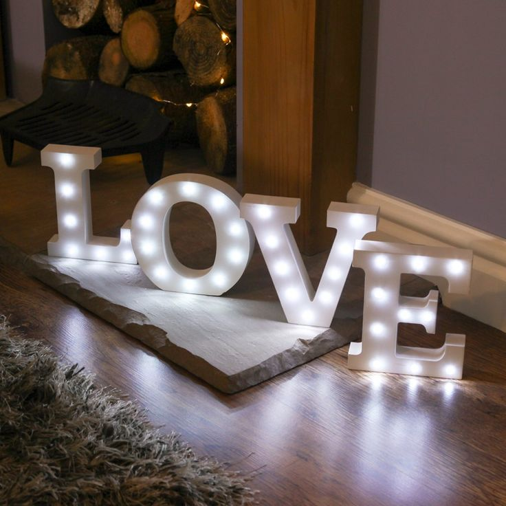 alphabet love marquee battery light up circus letter