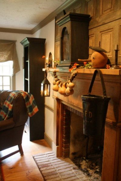 Love this Colonial/primitive look!