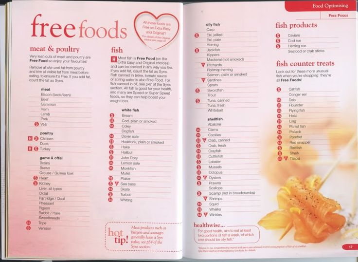 Slimming World Food Optimising Book Slimming World