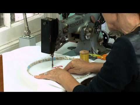 (22) Drawing with an Old irish sewing machine with Karen Nicol - YouTube