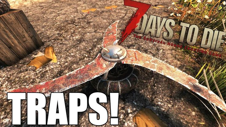 7 Days to Die Traps Guide - Blade Trap, Dart Trap, Electric Fence (Alpha...