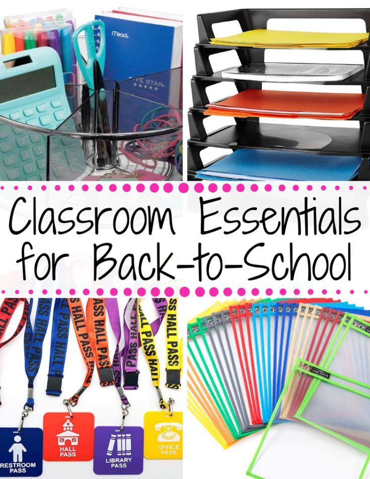Back to School Classroom Essentials! – Nicky Says This!+#back_to_school_bullet… – Back To School