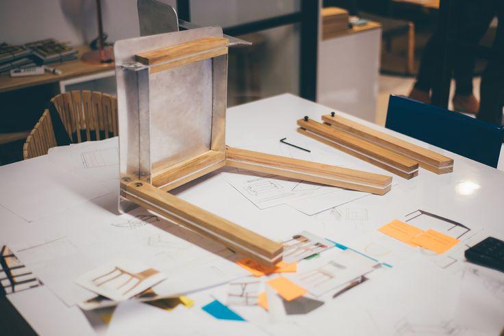 La silla PLATINA en proceso