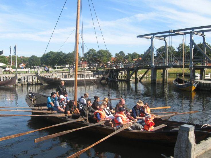 A Roskilde, le musée des bateaux Vikings - Danemark.