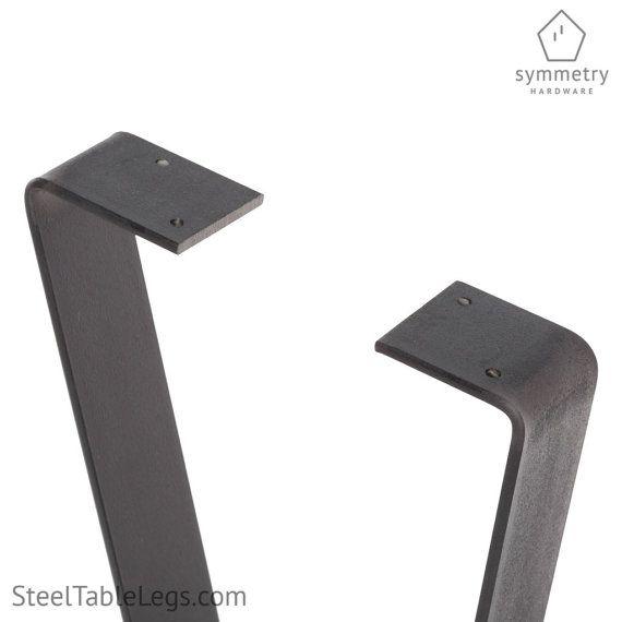 La Table en métal « Plat Pin » jambe livraison gratuite – restauration-Bar-hauteur hauteur hauteur/café – 1 seule jambe