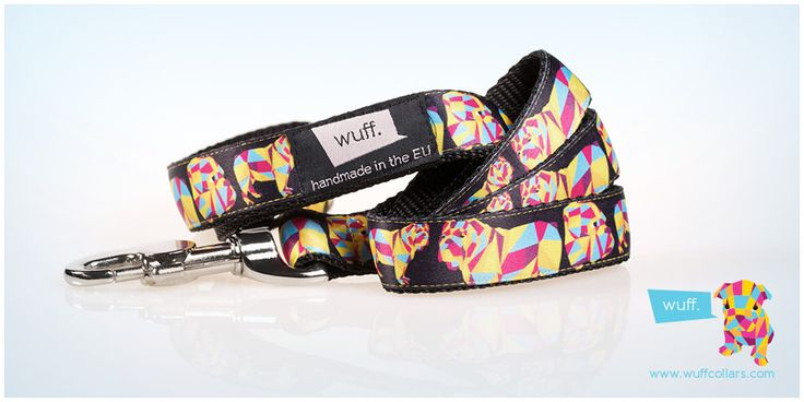 English Bulldog Dog Leash This leash features a sturdy heavy-duty snap hook and strong stitching, so that you can be sure it will bear your bulldog's power! http://www.wuffcollars.com/en/item/English_Bulldog_Leash-112 Item Code: 112