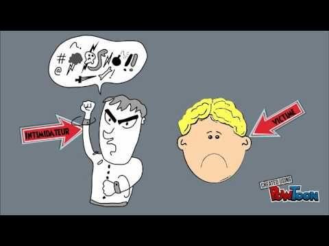 Les relations humaines et l'intimidation, capsule pour le 2e cycle du primaire - YouTube