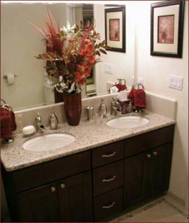 Granite Bathroom Countertops, Refinishing The Bathrooms.