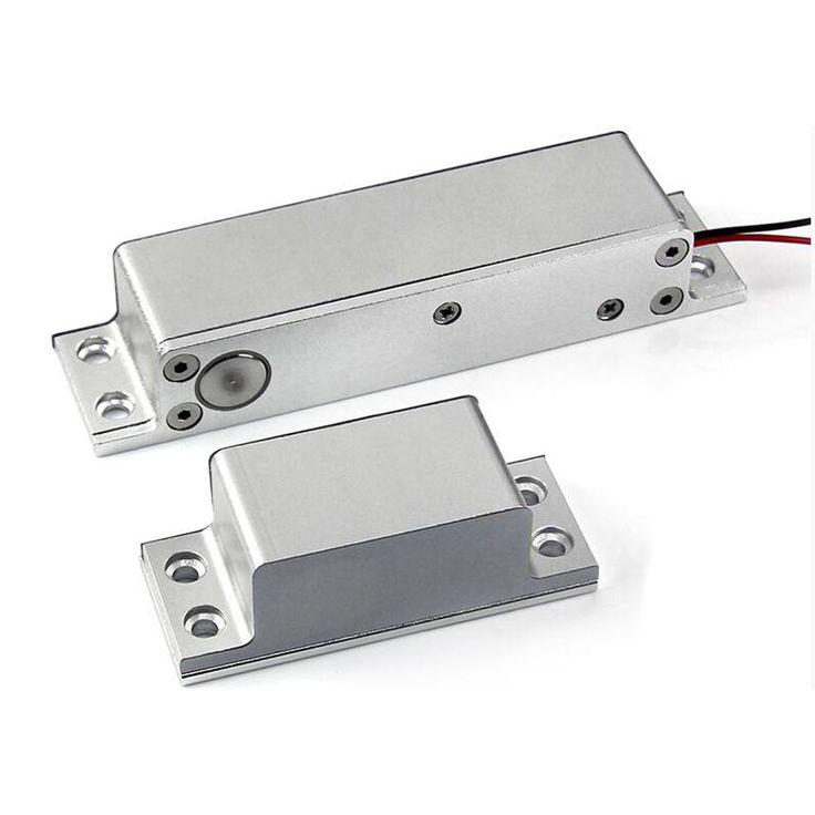 Puerta de aluminio y Puerta de Control de Acceso de Embutir CC 12 V No NC Electric Pestillo de la Cerradura de Seguridad Del Sistema