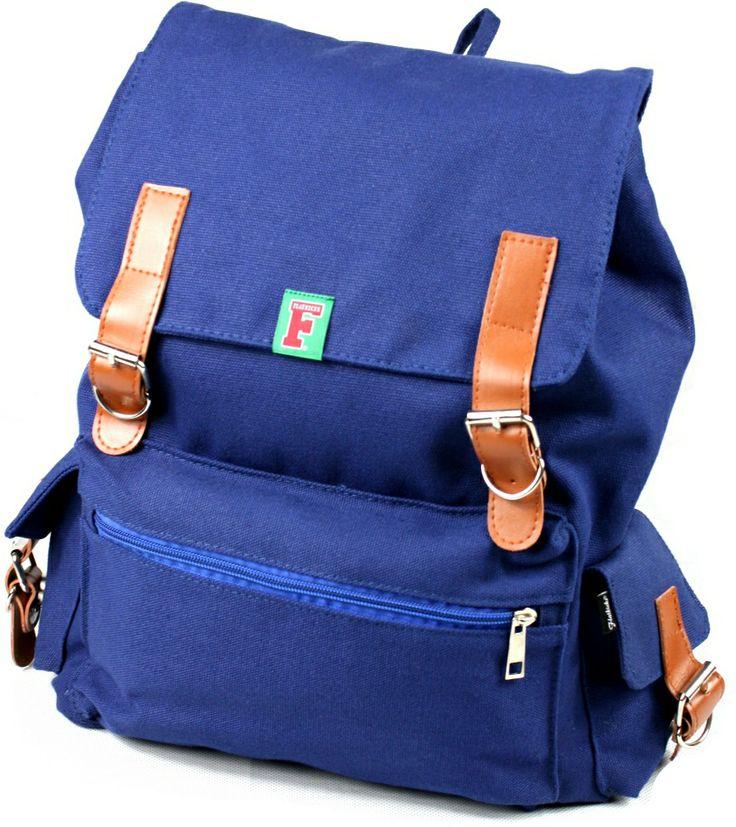 Flatkicks, backpack, canvas www.flatkicks.com