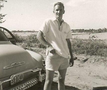 1957 Offutt AFB, NE -- lake near Council Bluffs.