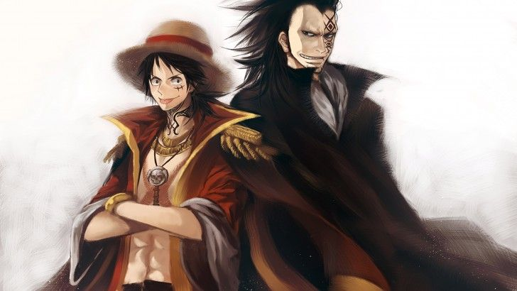Download Luffy and Dragon Wallpaper 4K UHD 3840x2400