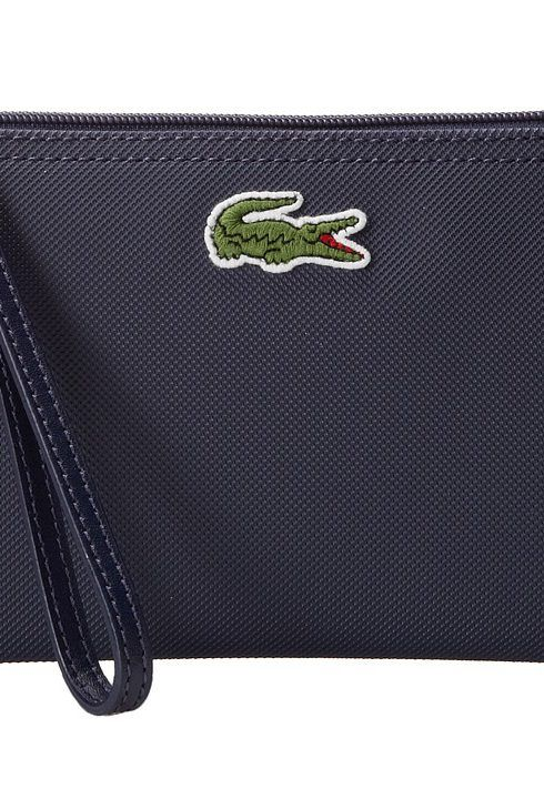 Lacoste L1212 Wristlet (Shadow Blue) Clutch Handbags - Lacoste, L1212 Wristlet, NF0390PO-404, Bags and Luggage Handbag Clutch, Clutch, Handbag, Bags and Luggage, Gift, - Fashion Ideas To Inspire