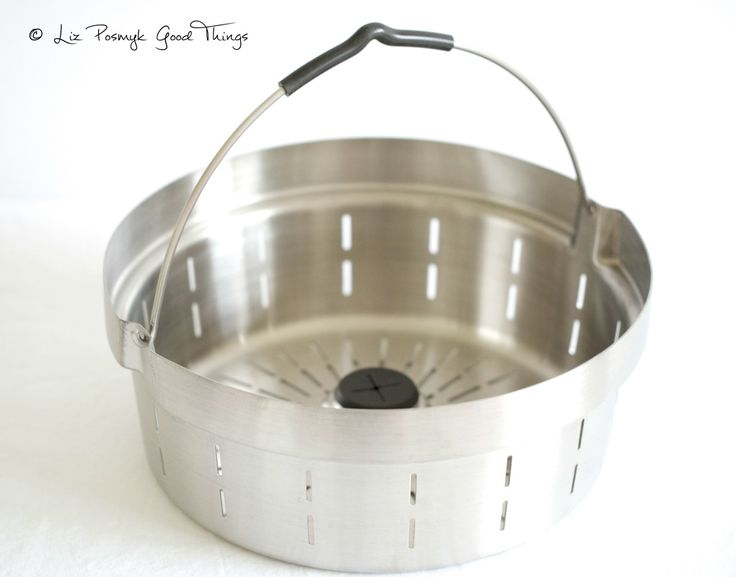 The Tefal Cuisine Companion stainless steel steamer basket