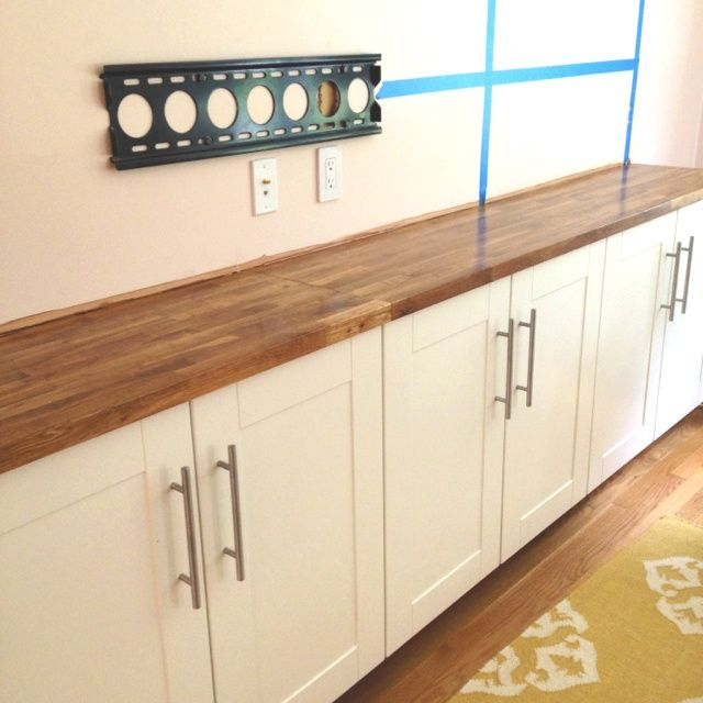 Diy Dining Room Storage: Ikea Built In Buffet - Google Search …