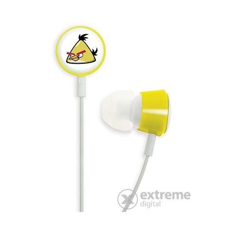GEAR4 Angry Birds fülhallgató, sárga
