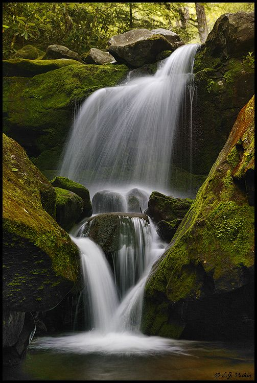 Lower Grotto Falls  Great Smoky Mountains National Park, Tennessee