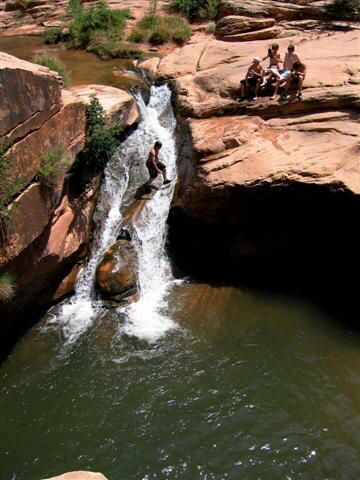 Mill Creek Swimming Hole. Moab Utah swimming holes....on the itin for the next trip to Moab, per kids request. Gear up!!