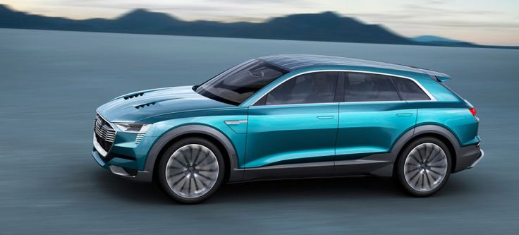 The Audi E-Tron Quattro Concept Is The Other Strike At Tesla In Crossover Form