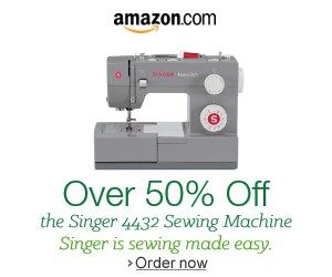 Shop Amazon – Save 50% on Singer Sewing