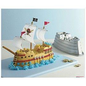 Nordic Ware Pirate Ship Cake Pan Recipe