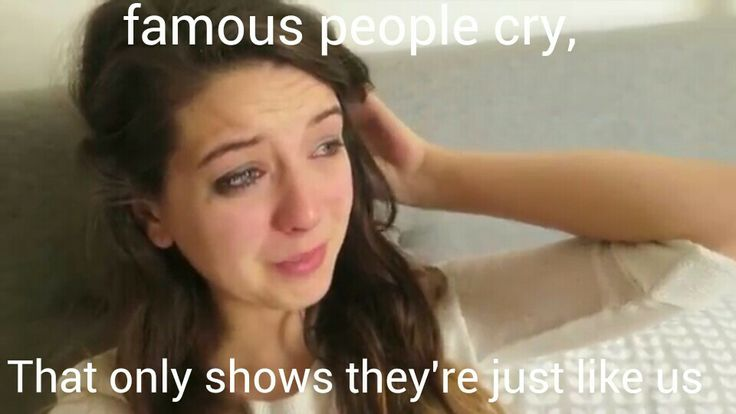 If there is one person who has made me feel that it is ok to cry. Its this person. Especially after whats going on #zoella