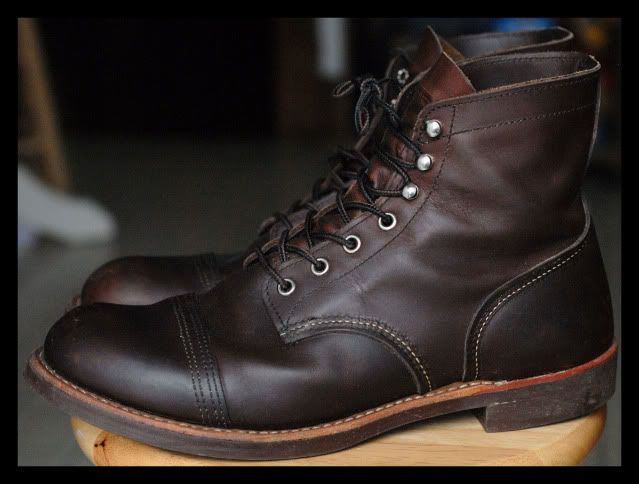 I'm tired of wearing out lesser boots. The next pair will be a pair of red wings