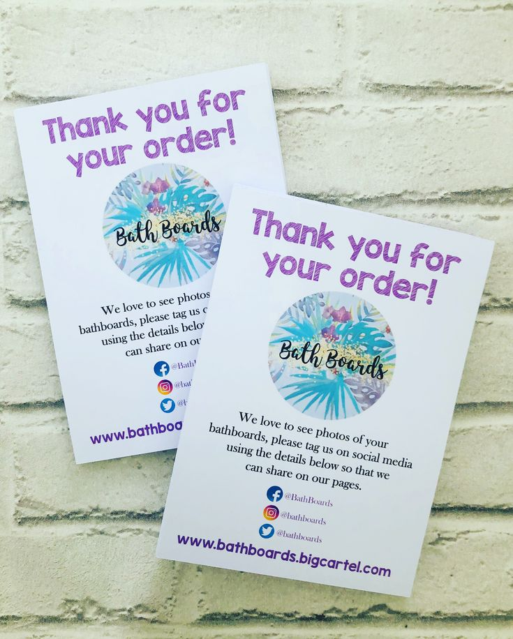 A5 thank you cards business stationery thank you cards