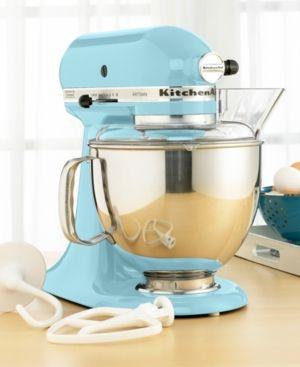 KitchenAid KSM150PS Artisan 5 Qt. Stand Mixer - Blue