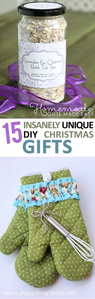 15 Insanely Unique DIY Christmas Gifts - Sunlit Spaces