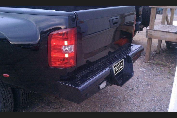 Ranch Hand BBC080BLSL 07.5-10 Chevy 2500HD/3500HD Part Rear Bumper