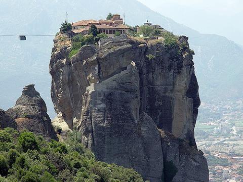 Monasterios Colgantes. Meteora Grecia