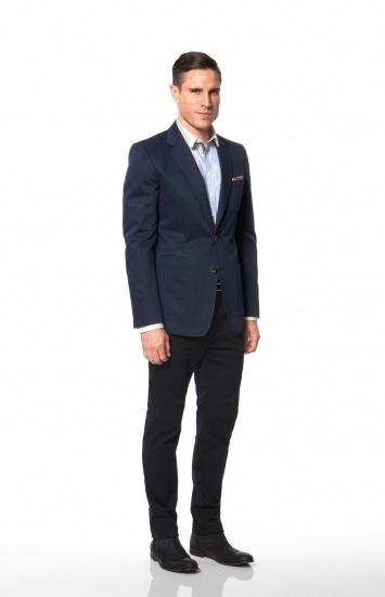 Calibre - Orlando S/C | Jennings Stripe Shirt | California Chino | Missouri Stripe Belt | Iowa Pattern P/S | Navy Ankle Boot