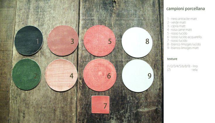 color for porcelain matt or shiny