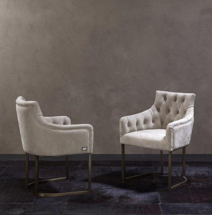 needle haystack furniture. rugiano 2x itaca chairs with chrome swivel base needle haystack furniture