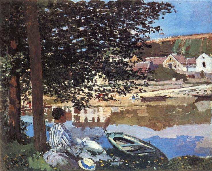 River Scene at Bennecourt, 1868 - Claude Monet