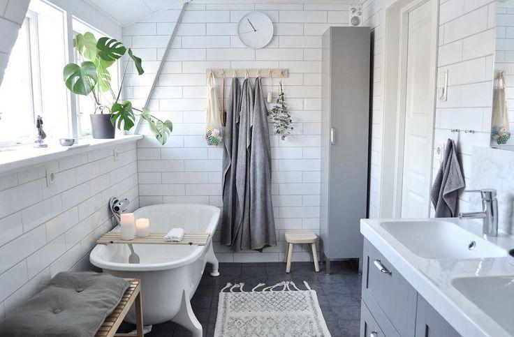 Nu är bloggen uppdaterad med ett inlägg om vårt badrum! josefinnetz.homespo.se #bathroom