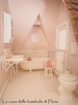 268 Best Miniature Bathrooms Images On Pinterest
