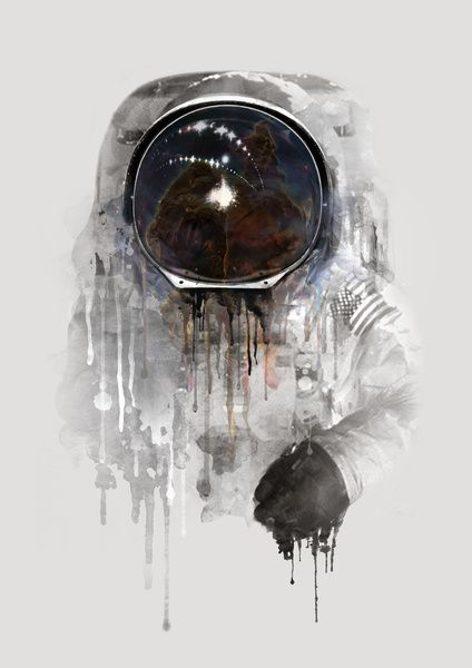 Astronaut Art Print: http://society6.com/product/astronaut-157_print?curator=kurtrahn