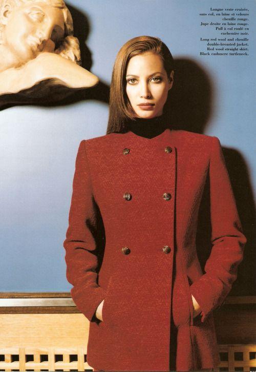 Christy Turlington - Lanvin F/W 1995