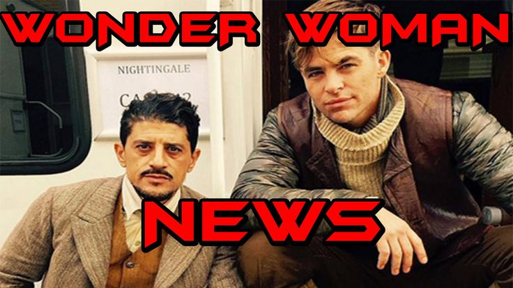 Wonder Woman News! Chris Pine As Steve Trevor and Zatara!?