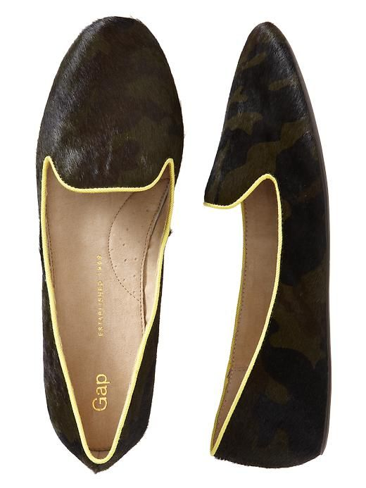 Gap calf hair loafers - need!