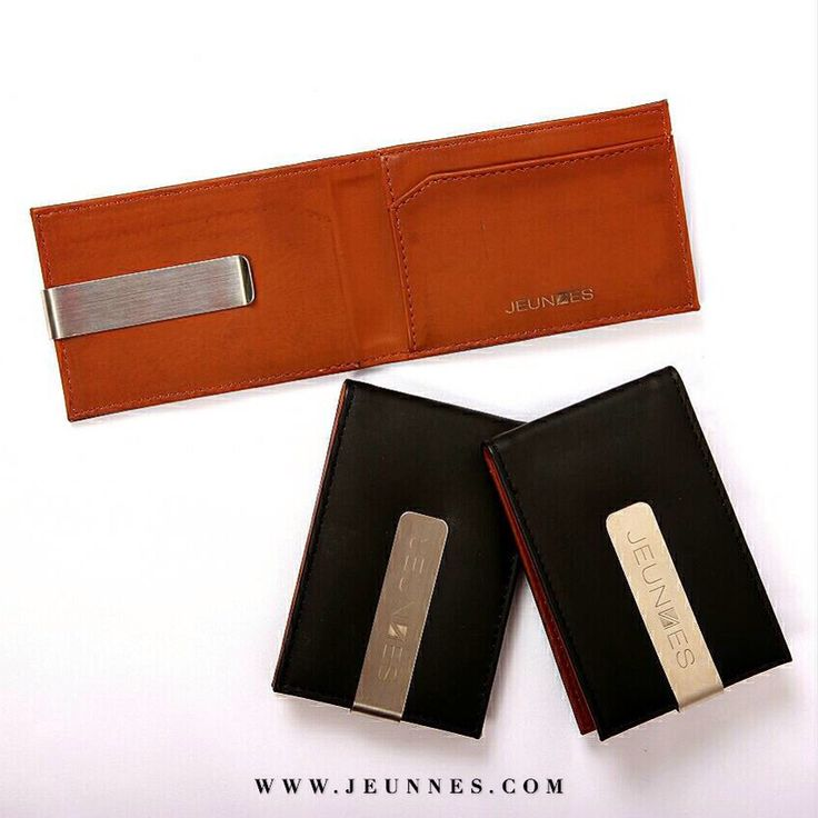 Hey urban people. This is our first wallet for mens and grab it before out of stock!  Money Clip Wallet  Black and brown leather combination With metal clip  Only 280,000 idr