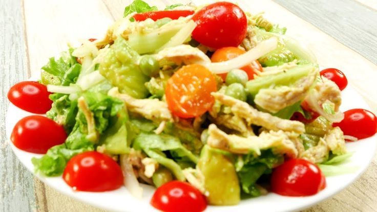 Healthy Chicken Salad Recipes For Weight Loss | 420 Calories (1 serving) – Weigh… – Salat
