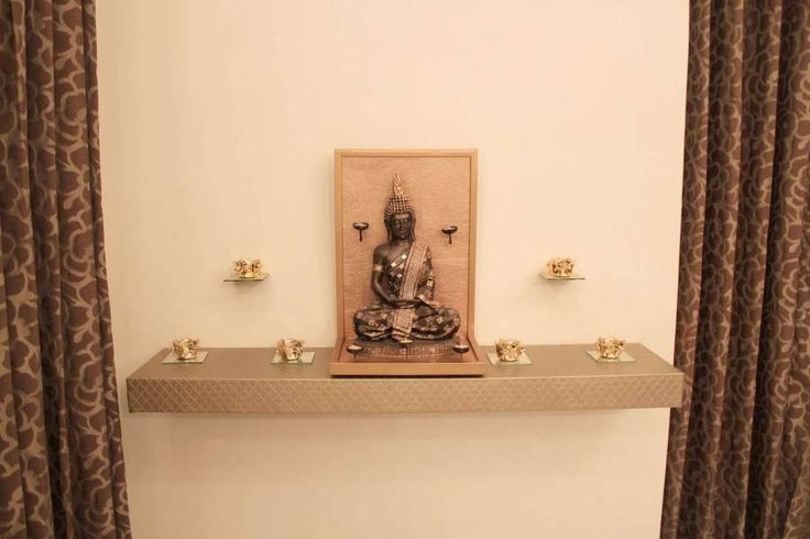 Design Pourri, Allahabad - Residential Pooja Room Design in Contemporary Style by Sonia, Interior Designer