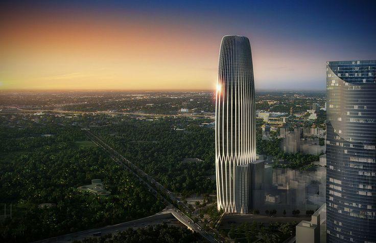 Puerta reforma mexico city 336m 73 fl torre hsbc for Puerta 6 aeropuerto ciudad mexico