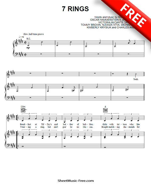 Pin On Piano Sheet