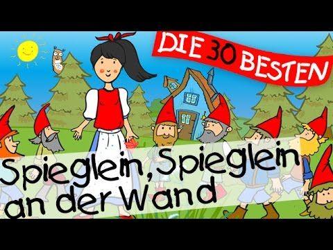 Spieglein Spieglein an der Wand (Schneewittchen) - Märchenlieder zum Mitsingen    Kinderlieder - YouTube