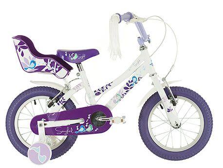 Raleigh Songbird 14 Inch Girls Bike White 2015   JE James Cycles